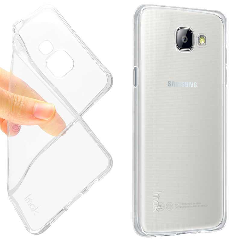 huge selection of d44ed 91c5b Soft Clear Back Case for Samsung Galaxy A510